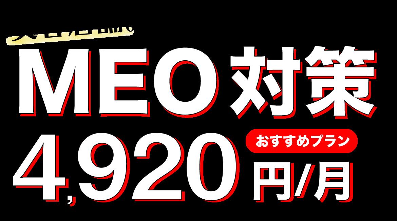MEO対策1,980円から